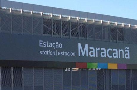Estação de trem Maracanã, na zona norte do Rio