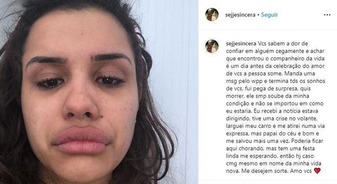 """Resultado de imagem para """"Não existo mais, estou acabado"""", diz ex-noivo de blogueira morta que casou consigo mesma"""