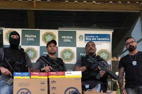 Polícia Civil recuperou carga roubada por quadrilha