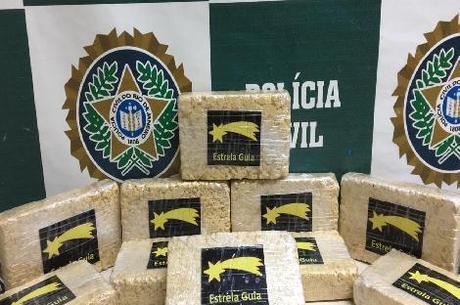 10 kg de pasta base de cocaína foram apreendidos