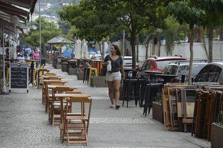 Self-service ou buffet estão proibidos pela prefeitura