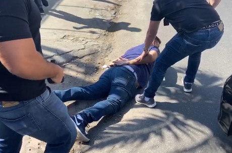 Suspeito foi preso por policiais da Draco