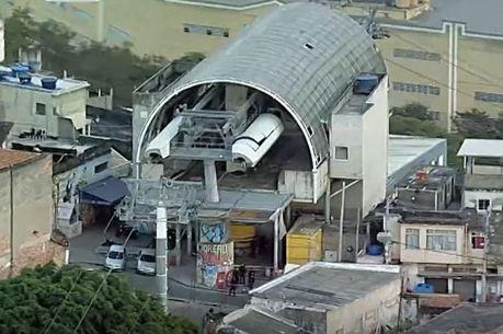 PM foi baleado próximo à estação de teleférico