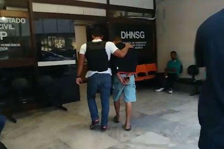 Vizinho foi preso em casa horas depois do crime
