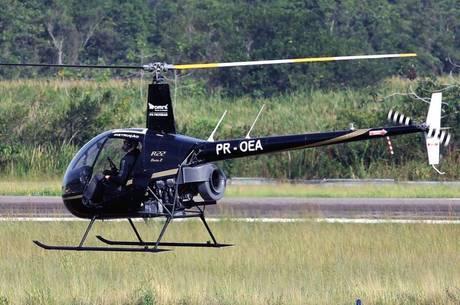 Aeronave era um Robinson R22  como o da foto acima