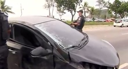 Motorista fugiu a pé depois de atingir ciclista