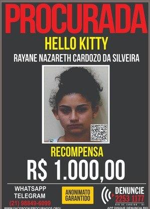 """Rayane da Silveira, a """"Hello Kitty"""""""