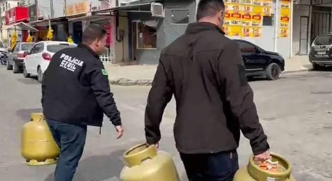 Policiais civis fecham depósito clandestino em megaoperação contra milícia no RJ