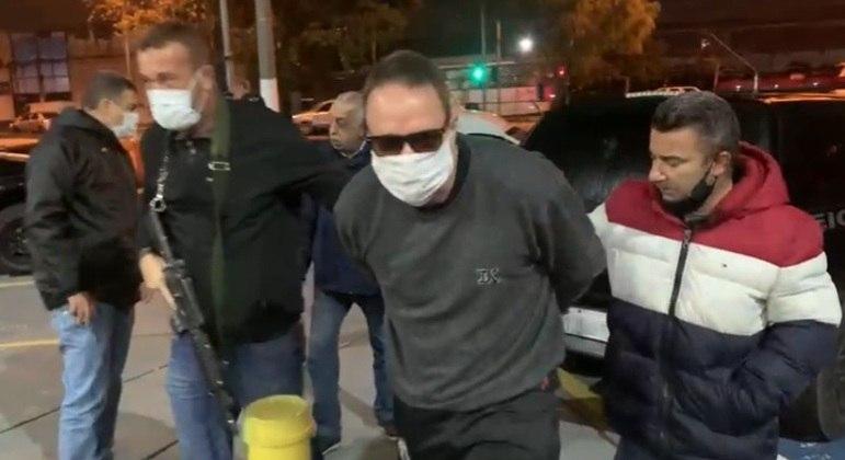 Prisão do ex-vereador aconteceu em São Paulo