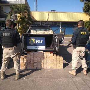 PFR apreende 240 tabletes de pasta base de  cocaína