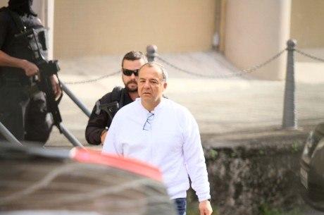 Cabral prestou depoimento nesta segunda (13)