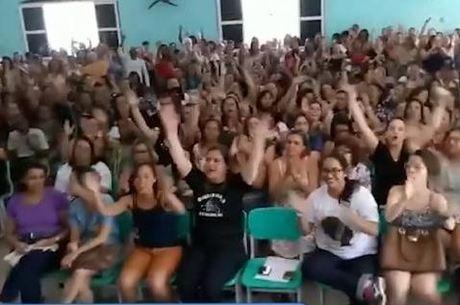 Professores entraram em greve nesta sexta-feira (3)