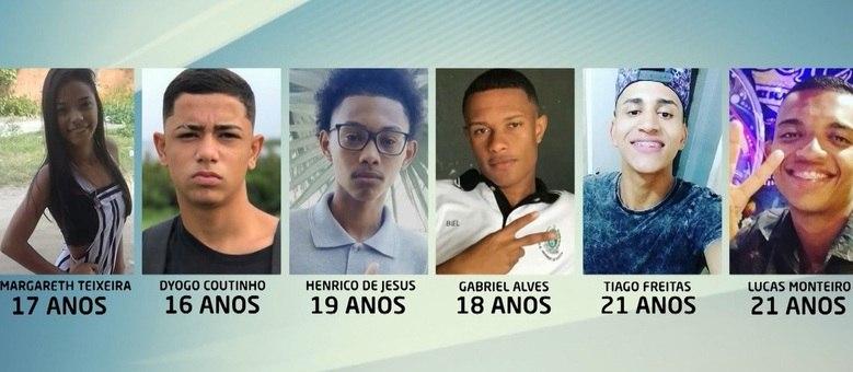 Jovens foram vítimas de balas perdidas no últimos cinco dias