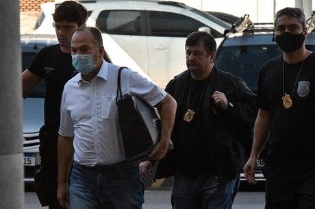Everaldo foi levado para a sede da PF no Rio