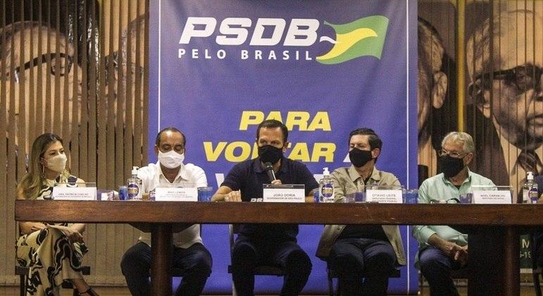 Dória participou  do evento Encontros pelo Brasil na sede da ABI