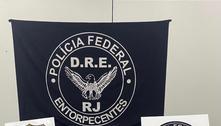 RJ: PF apreende 400 kg de cocaína em navio que iria para Europa