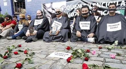 Protesto já realizado pela ONG
