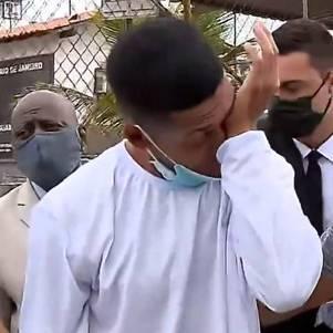 Thiago foi solto nesta quinta-feira (5)