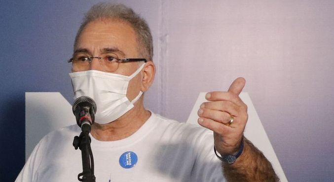 Ministro da Saúde, Marcelo Queiroga, participou do balanço da ação na comunidade