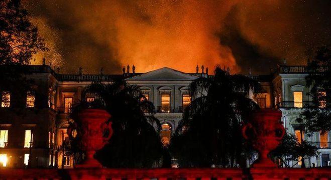 Incêndio atingiu Museu Nacional em setembro de 2018