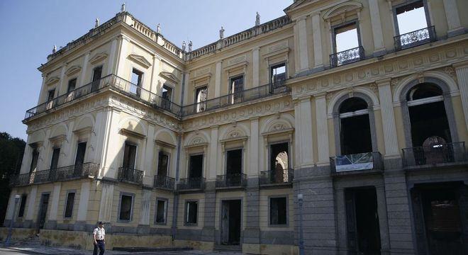 A casa abrigou a família real brasileira durante a monarquia