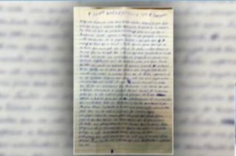 Lucas dos Santos escreveu carta para a deputada Flordelis