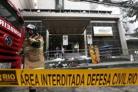 Hospital pegou fogo na última quinta-feira (12)