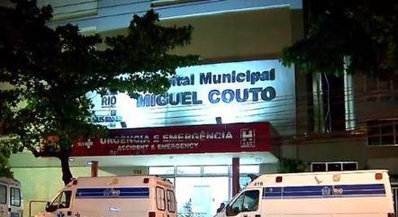 Hospital Municipal Miguel Couto, na zona sul do Rio