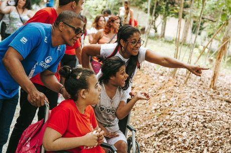 Projeto Guapiaçu Grande Vida criou jardim sensorial para cegos