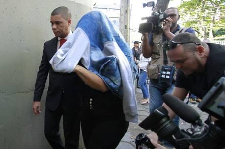 Elaine Lessa foi presa nesta manhã no Rio