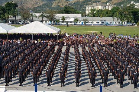 Rio conta com 43.950 mil policiais militares