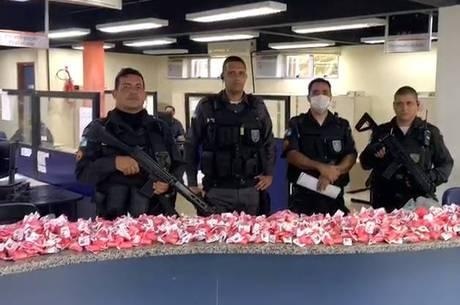 Valor das drogas é de mais de R$ 60 mil