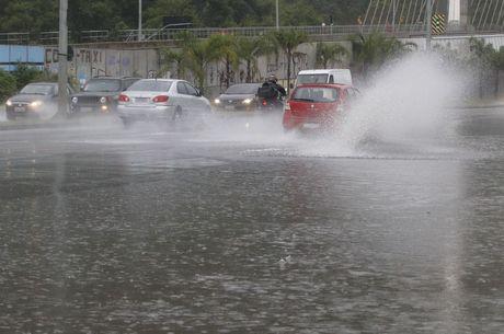 Rio registrou intensos alagamentos