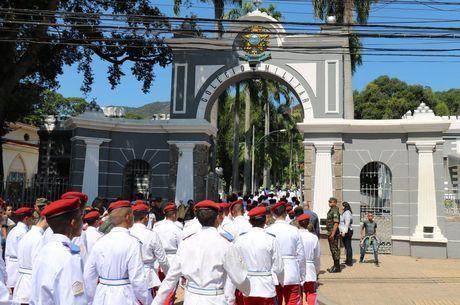 Colégio Militar do RJ voltou às aulas presenciais