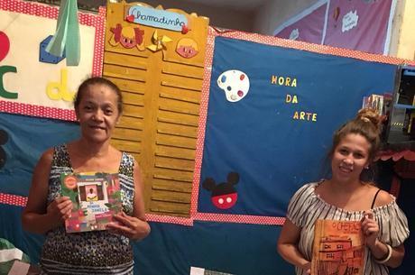 Creche envia livros em cestas básicas para alunos