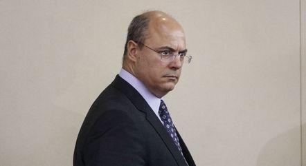 Witzel é investigado por suposta corrupção na Saúde do Rio