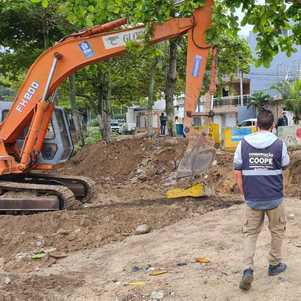 Prefeitura desfaz estacionamento irregular