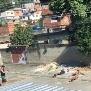 Vídeo mostra momento da execução