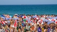 Rio tem calorão e praias lotadas neste sábado (4)