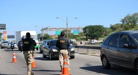 PRF registrou redução de acidentes no feriado