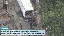 PRF e Polícia Civil fazem operação contra roubo de cargas no Rio