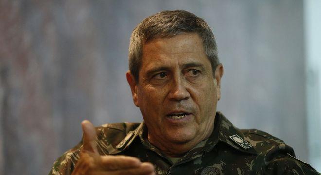 O novo ministro da Casa Civil, general de Exército Walter Souza Braga Netto