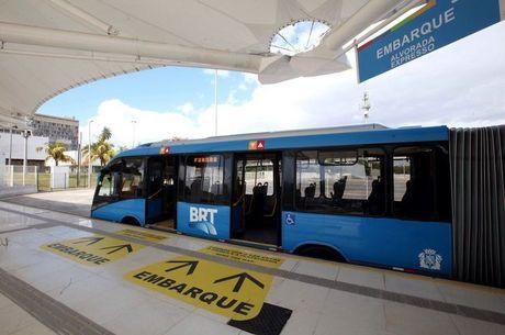 Guarda Municipal prendeu dois suspeitos em BRTs da zona oeste