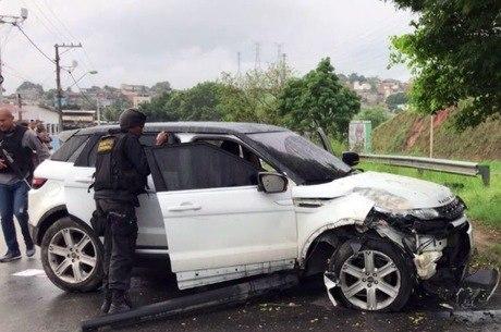 Policial foi encontrado em carro abandonado