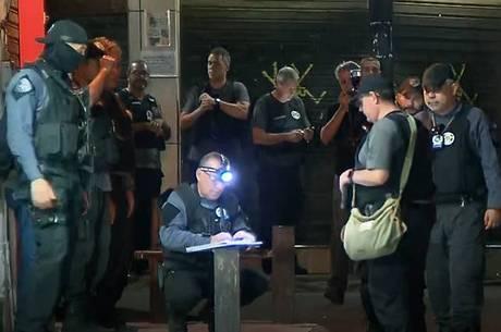 Setenta policiais participam da reconstituição