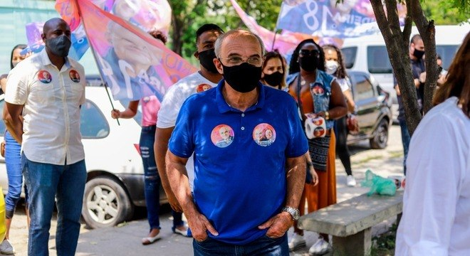 Eduardo Bandeira de Mello esteve em Padre Miguel
