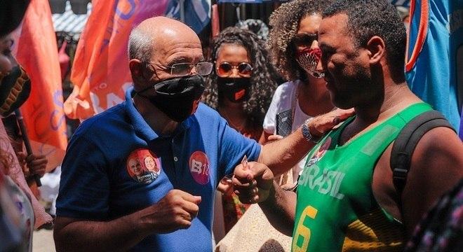 Eduardo Bandeira de Mello caminhou por Campo Grande