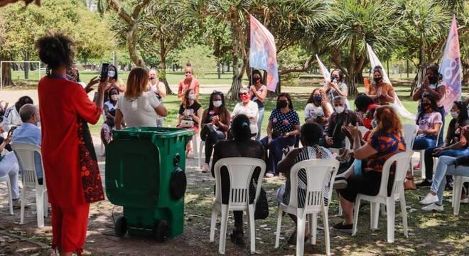 Eduardo Bandeira de Mello participou de debate