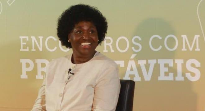Benedita da Silva esteve na região central