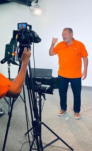 Fred Luz concedeu entrevistas